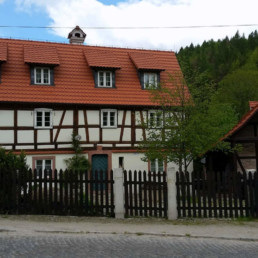 Weavers House in Rosciszow